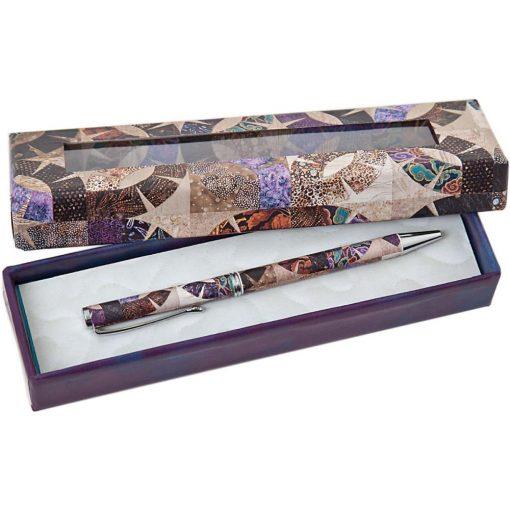 Gift pen Patchwork Quilters Pen purple