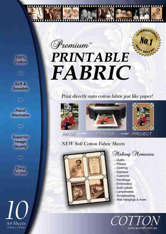 Premium Printable Fabric 10pk