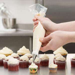 "Disposable Piping Bag 12"" Dispenser Box 200pc"