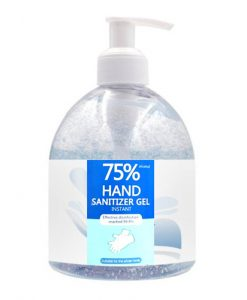 hand sanitizer 500ml bottle