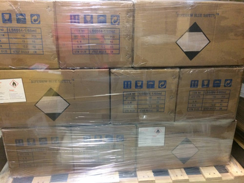 Hand Sanitizer Quick-drying Gel cartons